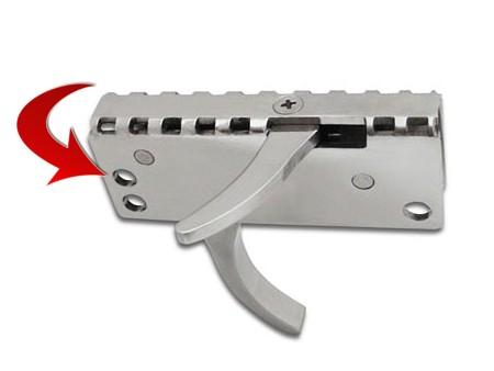 Speardiver speargun trigger mechanism safety installation hole